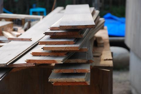 印旛の家 外壁板材