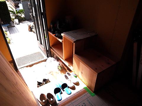 手摺代わりの家具