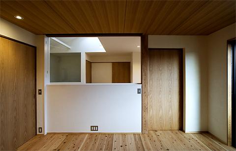 寝室から2階ホール