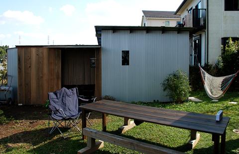 アオハダの家 小屋1