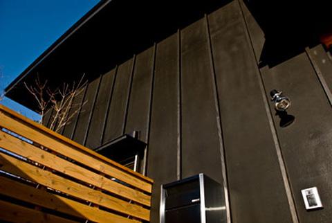 サイディグの外壁