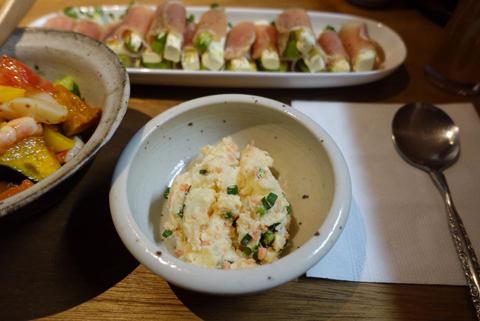 鮭入りポテトサラダ