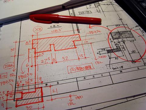枠廻り施工図のチェック