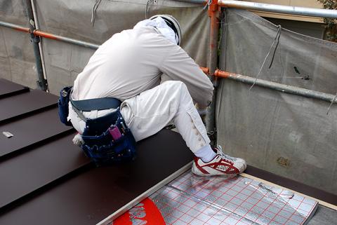 上屋板金工事
