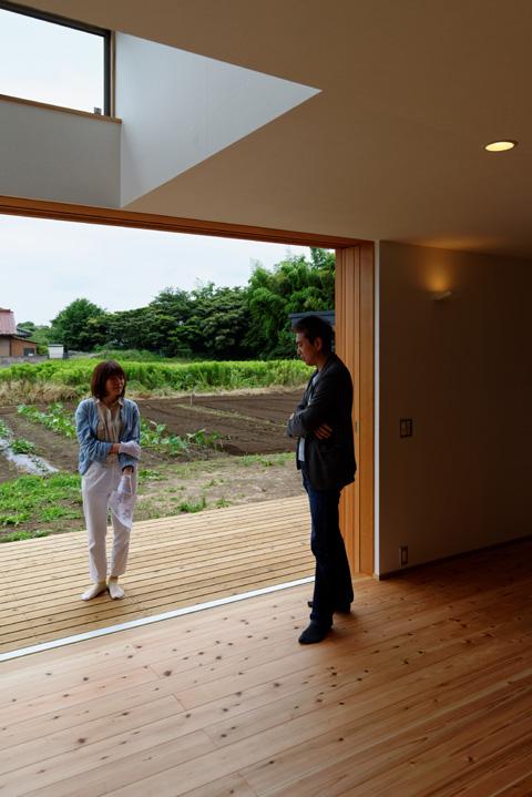 蓮田の家 見学会風景3