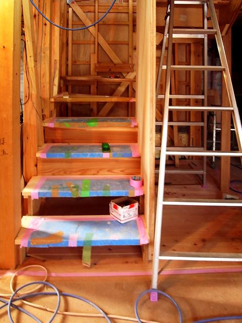 階段工事1