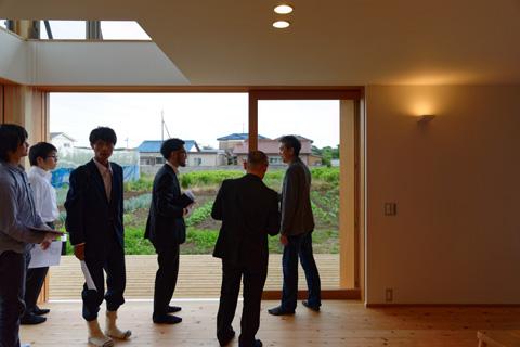 蓮田の家 見学会風景2