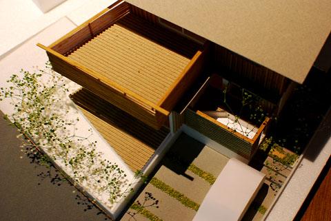 四街道の家 模型鳥瞰
