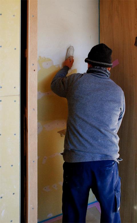 中霧島壁塗り仕上パターン確認
