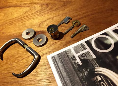 堀商店MCSと鍵と新しいカタログ
