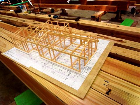 軸組み模型