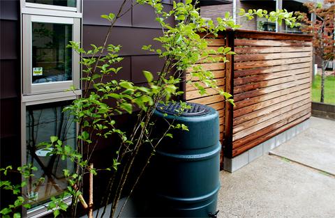 雨水タンク補助金利用