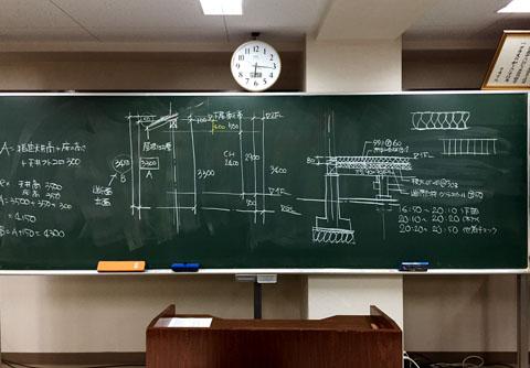 二級建築士設計製図授業 建物の高さの設計