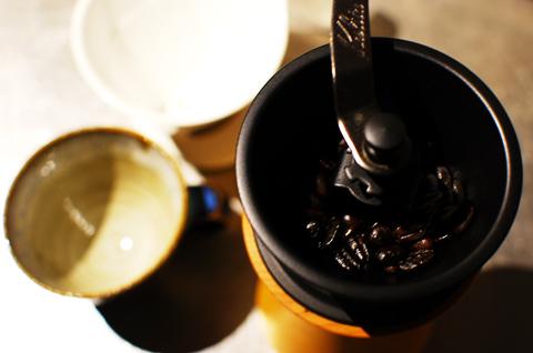 モクネジのコーヒーミル